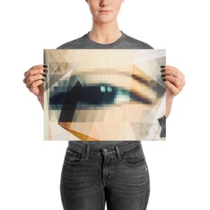 """""""Eye See"""" Photo paper poster"""