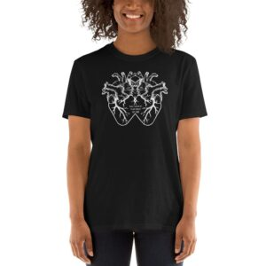 """""""Two Hearts That Beat As One"""" Short-Sleeve Unisex T-Shirt"""